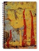 Broken Flames Spiral Notebook