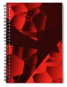 Broken Heart  Spiral Notebook