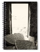 Broken Millstone Spiral Notebook