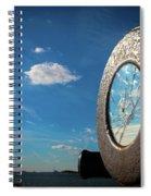 Broken Reflection  Spiral Notebook