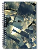 Broken Sky Spiral Notebook