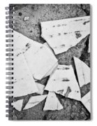 Broken Tile Spiral Notebook