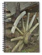 Broken Wheel Spiral Notebook