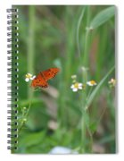 Broken Wing Spiral Notebook