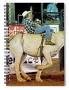 Bronc Riding Spiral Notebook