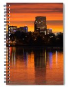 Broncos Sunrise Spiral Notebook