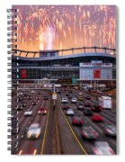 Broncos Win Afc Championship Game 2016 Spiral Notebook