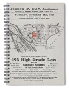 Bronx 1907 Realtor Flyer Spiral Notebook