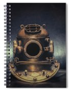 Bronze 4 Bolt Helmet Spiral Notebook