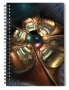 Bronze Age Ballet Spiral Notebook