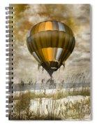 Bronze Beach Ballooning Spiral Notebook