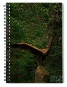 Bronze Eagle Spiral Notebook