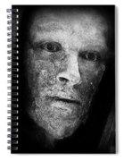 Bronze Face Spiral Notebook