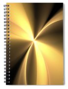 Bronze Gold Wings Spiral Notebook
