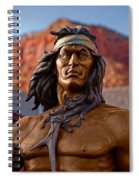 Bronze Native Spiral Notebook