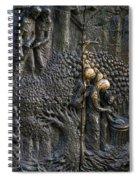 Bronze Sculptured Church Door - Slovenia Spiral Notebook