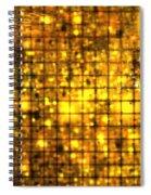 Bronze Solar Cubes Spiral Notebook