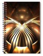 Bronze Spider Spiral Notebook