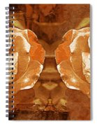 Bronzed Spiral Notebook