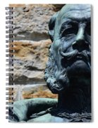 Bronzed Stash Spiral Notebook