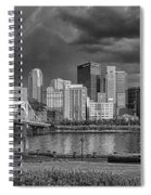 Brooding Above The Burgh Spiral Notebook