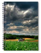 Brooding Sky Spiral Notebook