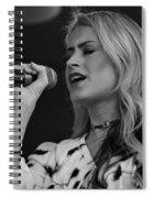 Brook Eden In Concert Spiral Notebook