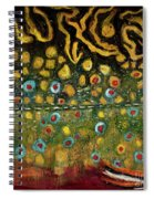 Brook Trout Skin Spiral Notebook
