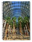Brookfield Place Atrium - N Y C # 2 Spiral Notebook