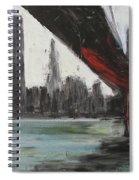 Brooklyn Bleeding Spiral Notebook