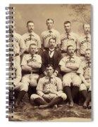 Brooklyn Bridegrooms Baseball Team Spiral Notebook