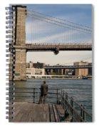 Brooklyn Bridge  Spiral Notebook