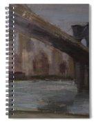 Brooklyn Bridge Painting Spiral Notebook