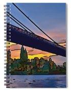 Brooklyn Bridge Collection - 2 Spiral Notebook