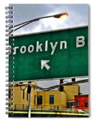 Brooklyn Bridge Thisaway Spiral Notebook