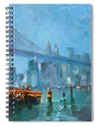 Brooklyn Bridge Spiral Notebook