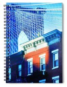 Brooklyn Bridge, New York City, December Spiral Notebook