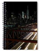 Brooklyn Lights Spiral Notebook