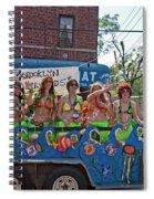 Brooklyn Mermaids Spiral Notebook