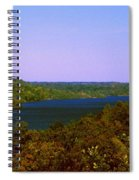 Brookville Lake Autumn Colors Spiral Notebook