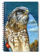 Brother Hawk Spiral Notebook