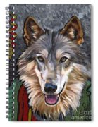 Brother Wolf Spiral Notebook