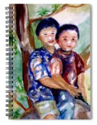 Brothers Bonding Spiral Notebook