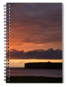Brough Of Birsay Sunset Spiral Notebook