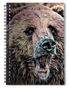 Brown Bear Spiral Notebook