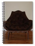 Brown Chair Spiral Notebook
