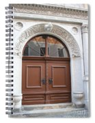 Brown Door Spiral Notebook