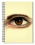 Brown Eye Spiral Notebook