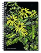 Brown-eyed Susans II Spiral Notebook