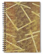 Brown Layers Spiral Notebook